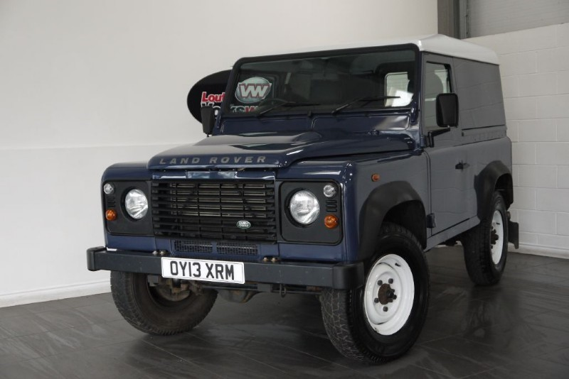 used Land Rover Defender 90 TD HARD TOP in lincolnshire-for-sale