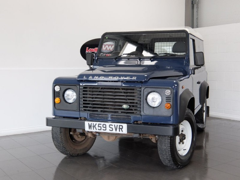 used Land Rover Defender 90 HARD TOP FULL SERVICE HISTORY in lincolnshire-for-sale