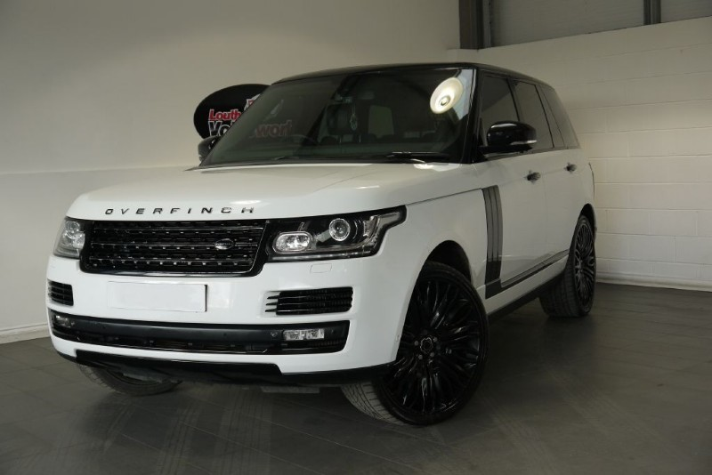 used Land Rover Range Rover SDV8 VOGUE SE HUGE SPEC in lincolnshire-for-sale
