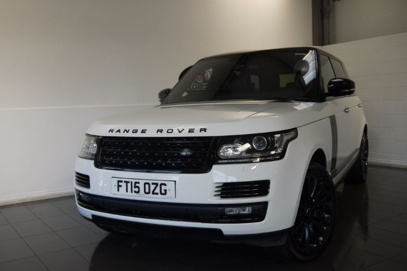 used Land Rover Range Rover SDV8 AUTOBIOGRAPHY LONG WHEEL BASE HUGE SPEC, BLACK PACK, SIDE STEPS. in lincolnshire-for-sale