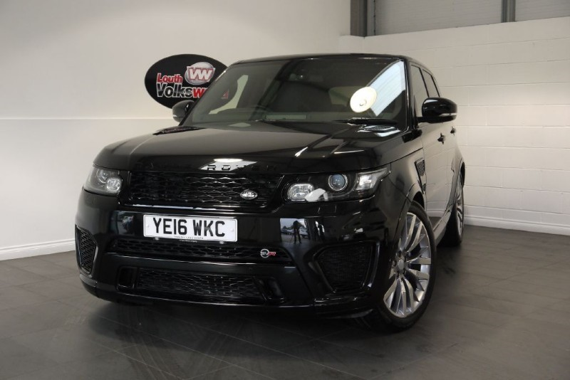 used Land Rover Range Rover Sport V8 SVR SERVICE PACK in lincolnshire-for-sale
