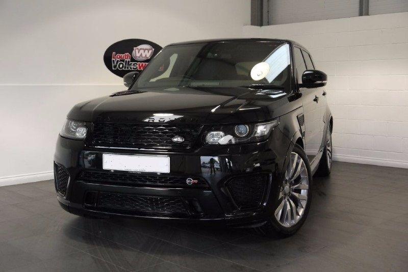 used Land Rover Range Rover Sport V8 SVR in lincolnshire-for-sale