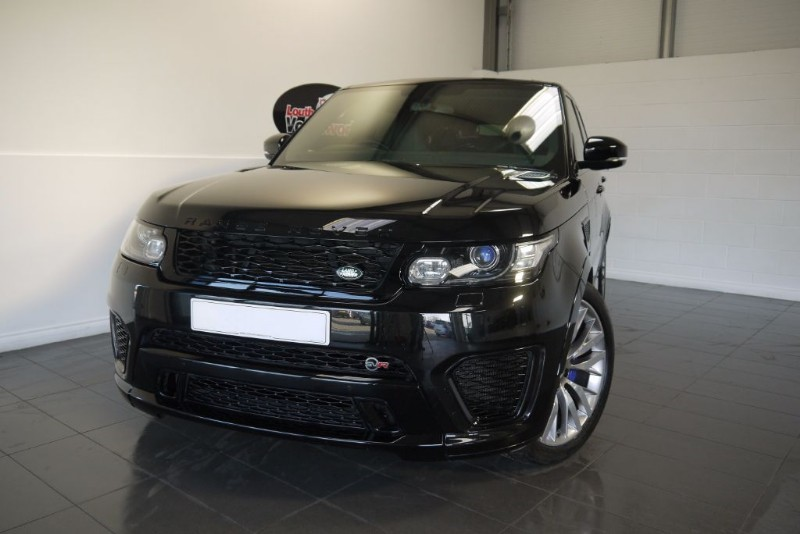 used Land Rover Range Rover Sport V8 SVR PAN ROOF CARBON FIBRE INSERTS in lincolnshire-for-sale