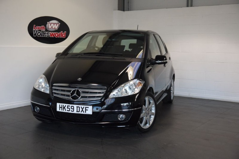 used Mercedes A180 SE AVANTGARDE 5DR AUTOMATIC in lincolnshire-for-sale