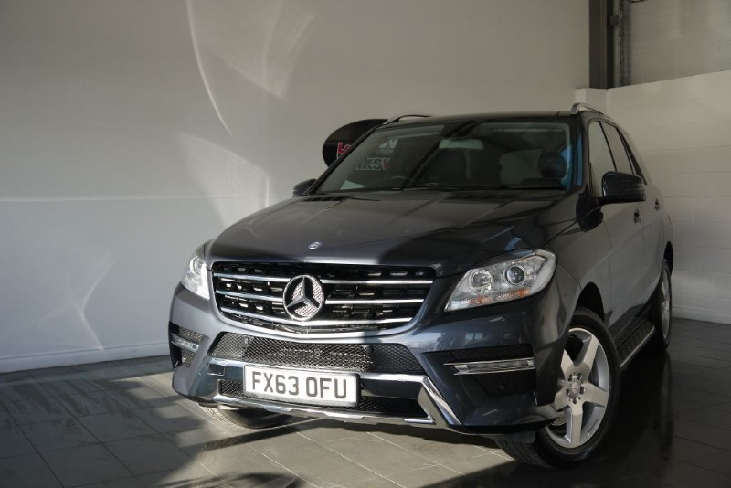used Mercedes ML350 SPORT AMG BLUETEC 5DR AUTOMATIC in lincolnshire-for-sale