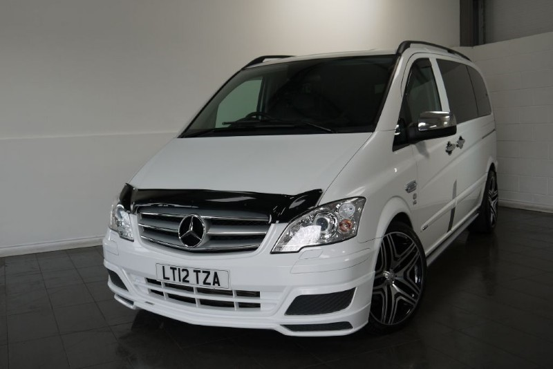 used Mercedes Vito 122 CDI DUALINER SPORT X 3.0 CDI V6 BRABUS AUTO HUGE SPEC in lincolnshire-for-sale