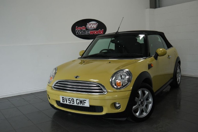 used MINI Convertible COOPER 2DR in lincolnshire-for-sale