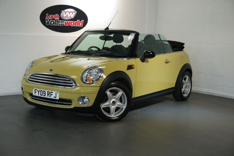 used MINI Cooper COOPER 3DR CONVERTIBLE in lincolnshire-for-sale