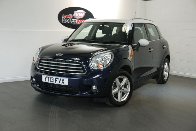 used MINI Countryman COUNTRYMAN 1.6D COOPER PEPPER PACK in lincolnshire-for-sale