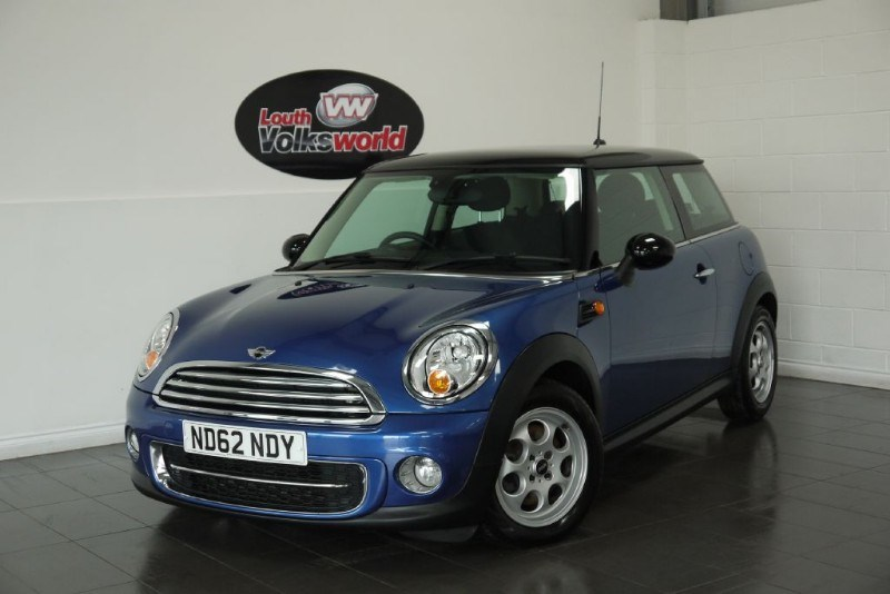 used MINI Hatch COOPER 1.6D 3DR PEPPER PACK in lincolnshire-for-sale
