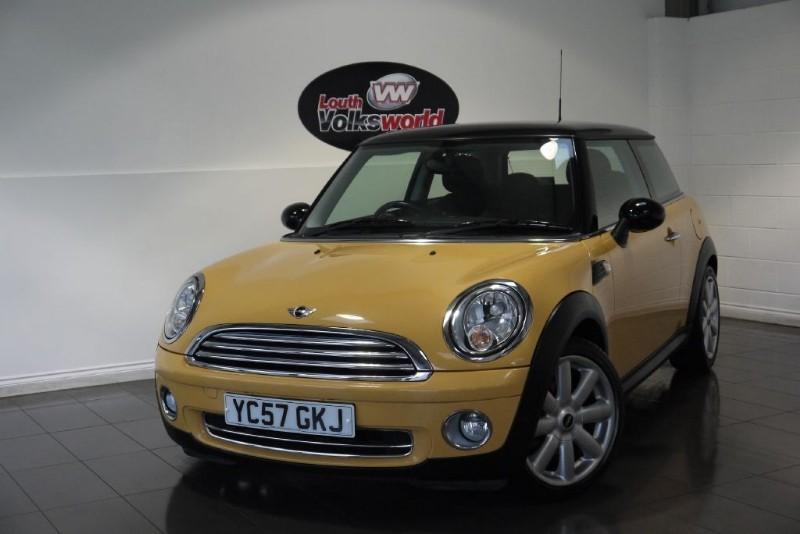 used MINI Hatch COOPER 1.6 3DR CHILLI PACK in lincolnshire-for-sale