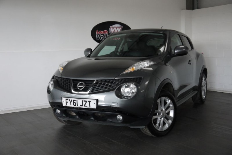 used Nissan Juke DCI TEKNA 5DR SAT NAV FULL LEATHER INTERIOR in lincolnshire-for-sale