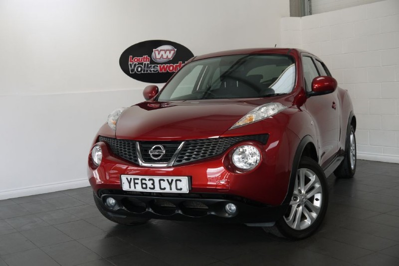 used Nissan Juke DCI ACENTA PREMIUM 5DR SAT NAV in lincolnshire-for-sale