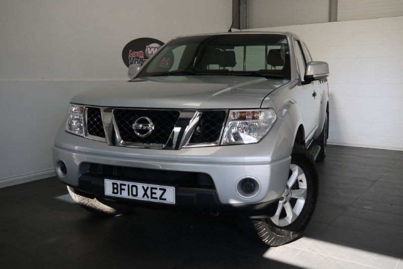 used Nissan Navara DCI ACENTA 4X4 KCB KING CAB in lincolnshire-for-sale