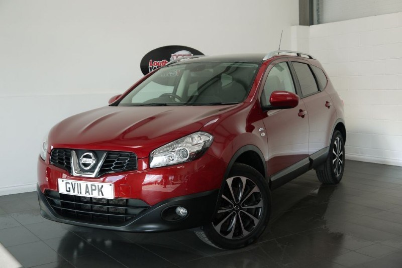 used Nissan Qashqai N-TEC PLUS 2 SAT NAV PAN ROOF in lincolnshire-for-sale