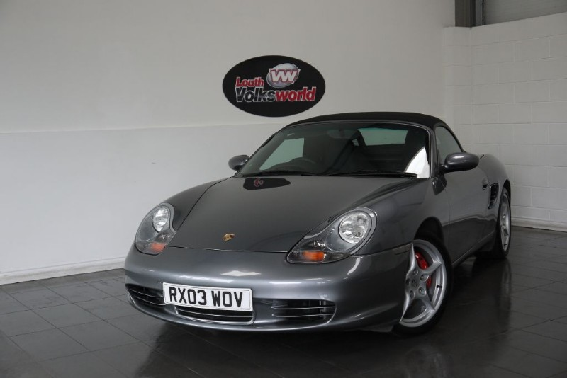 used Porsche Boxster S 2DR CONVERTIBLE FULL SERVICE HISTORY in lincolnshire-for-sale