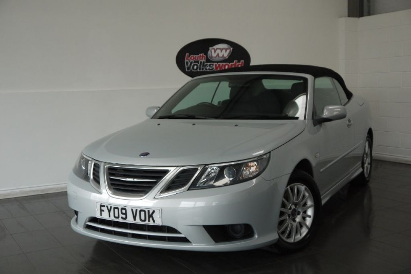 used Saab 9-3 TID LINEAR SE 2DR CONVERTIBLE in lincolnshire-for-sale