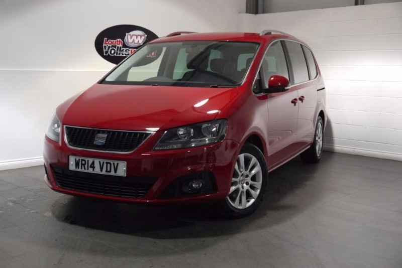 used SEAT Alhambra TDI SE ECOMOTIVE 5DR 7 SEATER in lincolnshire-for-sale