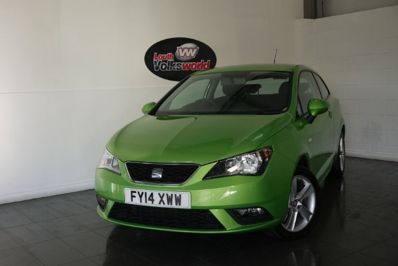 used SEAT Ibiza TOCA 3DR SAT NAV in lincolnshire-for-sale