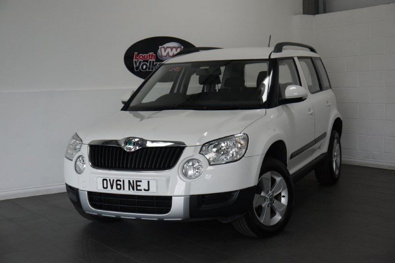 used Skoda Yeti TDI S 5DR 4X4 FULL SERVICE HISTORY in lincolnshire-for-sale