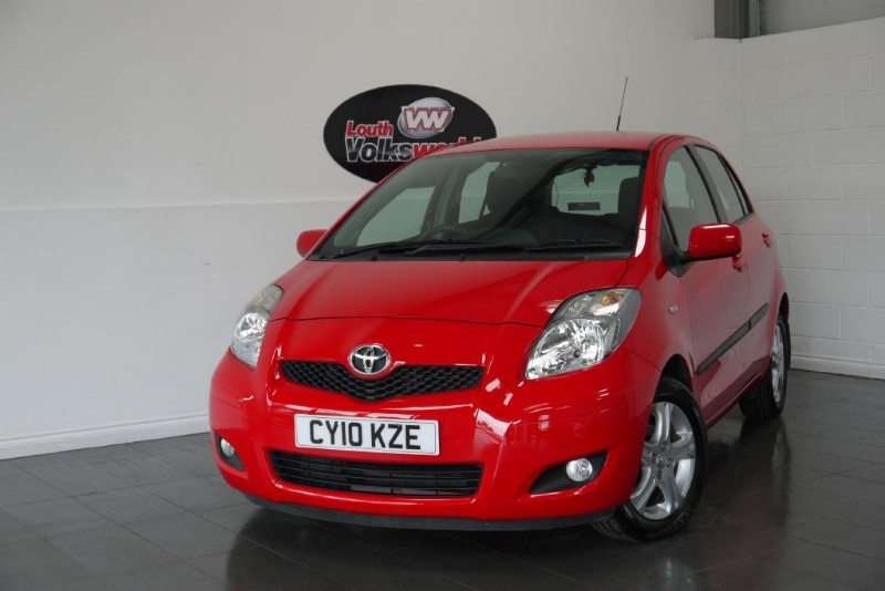 used Toyota Yaris TR VVT-I 5DR £30 P/YEAR TAX in lincolnshire-for-sale