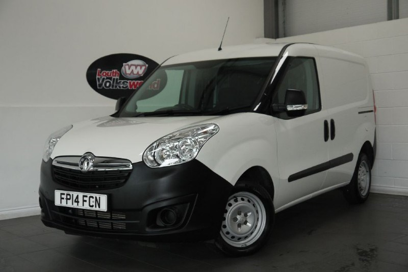 used Vauxhall Combo CDTI 2000 3DR VAN  in lincolnshire-for-sale
