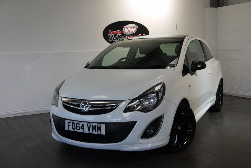 used Vauxhall Corsa LIMITED EDITION 3DR in lincolnshire-for-sale