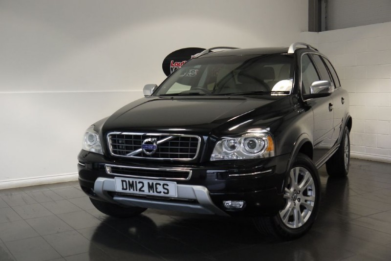 used Volvo XC90 D5 SE LUX AWD 5DR SAT NAV 7 SEATS in lincolnshire-for-sale