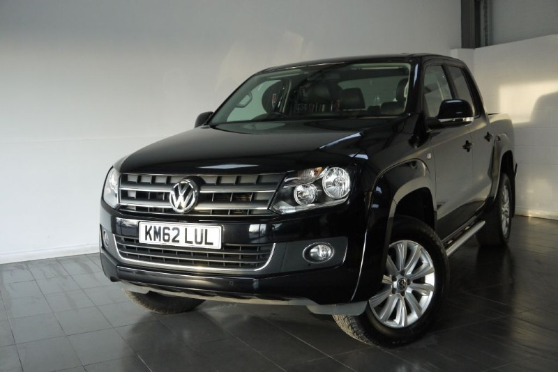 used VW Amarok TDI DC HIGHLINE 4MOTION 5DR SAT NAV in lincolnshire-for-sale