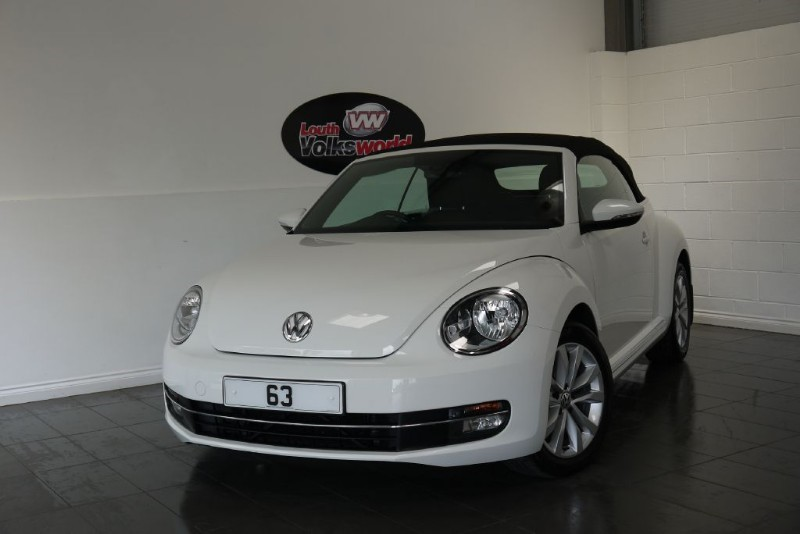 used VW Beetle TDI DESIGN 2DR  in lincolnshire-for-sale