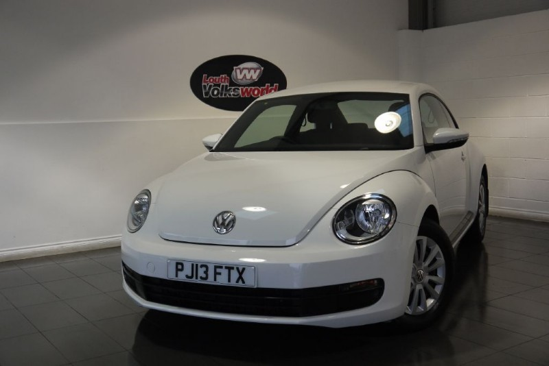 used VW Beetle TDI BLUEMOTION 3DR £30 P/YEAR TAX in lincolnshire-for-sale