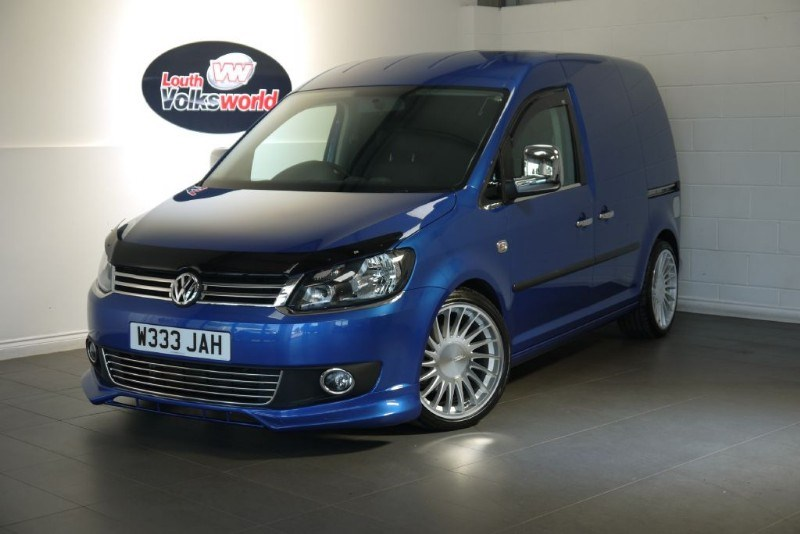 used VW Caddy C20 TDI HIGHLINE in lincolnshire-for-sale