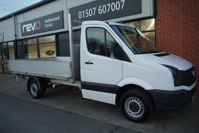 used VW Crafter CR35 TDI 2.0 TDI (109PS) MWB DROPSIDE in lincolnshire-for-sale