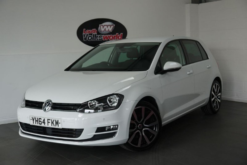 used VW Golf TDI GT 5DR BLUEMOTION SAT NAV  in lincolnshire-for-sale