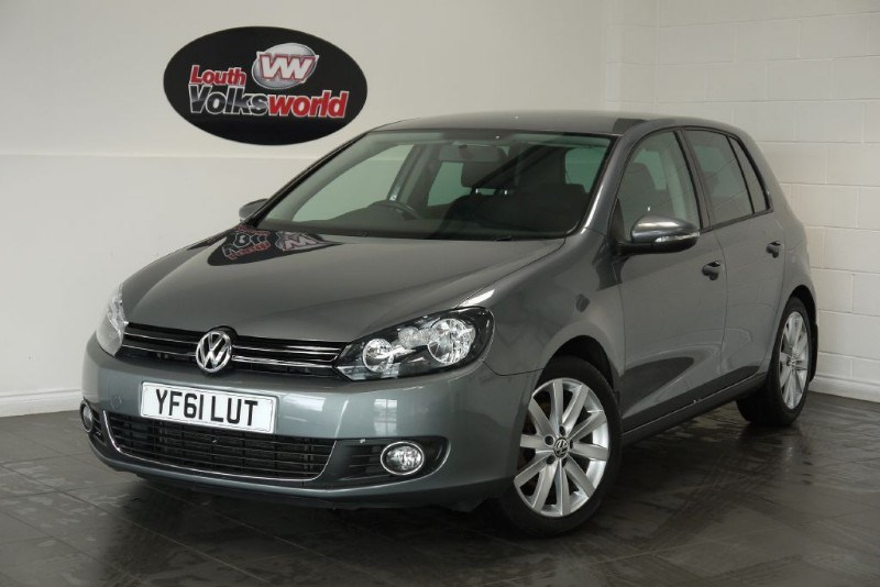 used VW Golf TDI GT 5DR FULL LEATHER INTERIOR HEATED SEATS in lincolnshire-for-sale