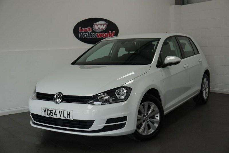 used VW Golf TDI SE BLUEMOTION 5DR SAT NAV in lincolnshire-for-sale
