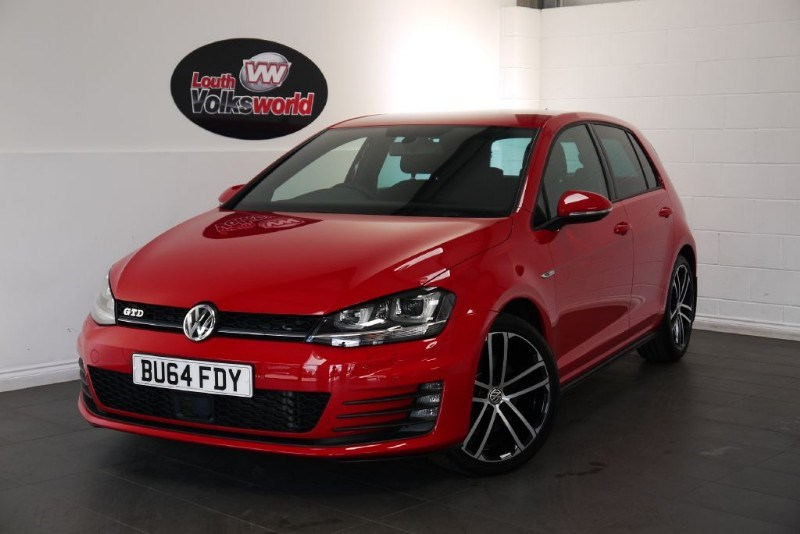 used VW Golf GTD 5DR FULL SERVICE HISTORY in lincolnshire-for-sale