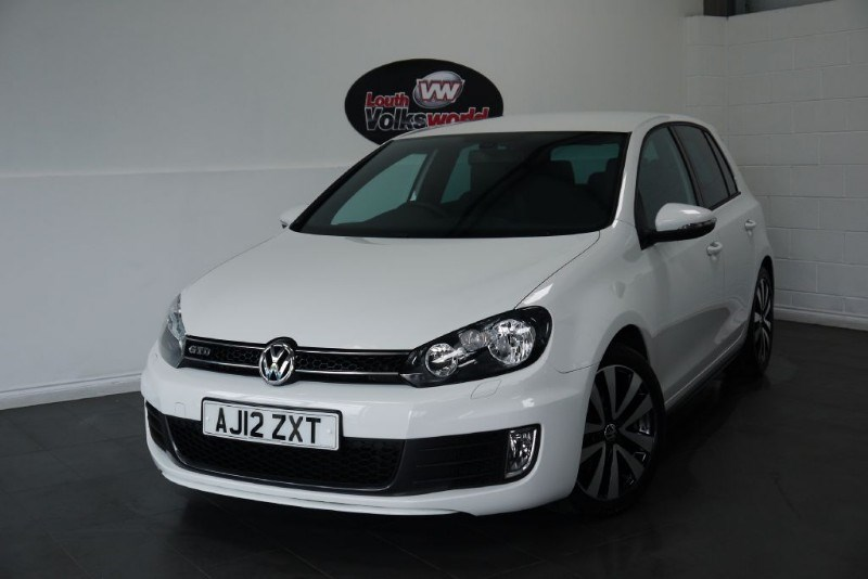 used VW Golf TDI GTD 5DR AUTOMATIC FULL LEATHER INTERIOR in lincolnshire-for-sale