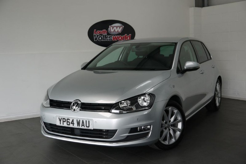 used VW Golf TDI GT BLUEMOTION TECHNOLOGY SAT NAV SAVE £1000 in lincolnshire-for-sale