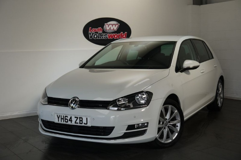used VW Golf TDI GT BLUEMOTION TECHNOLOGY 5DR SAT NAV SAVE £1000 in lincolnshire-for-sale