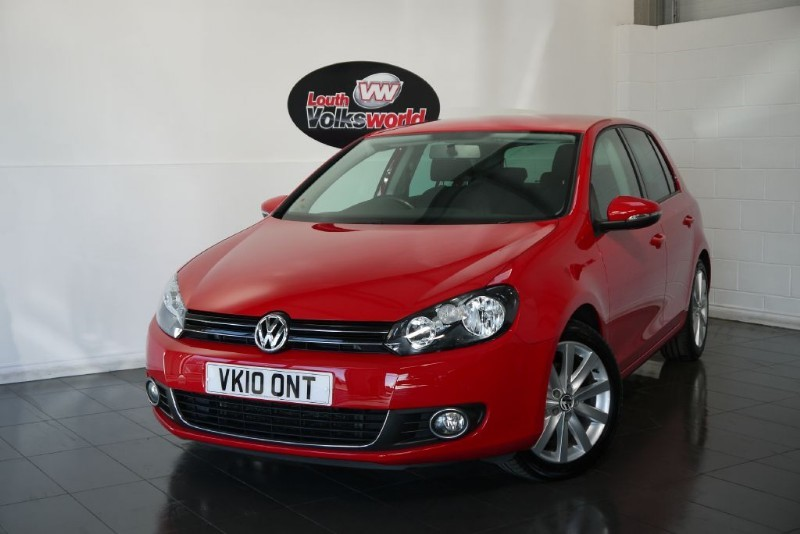 used VW Golf TDI GT 5DR FULL SERVICE HISTORY  in lincolnshire-for-sale