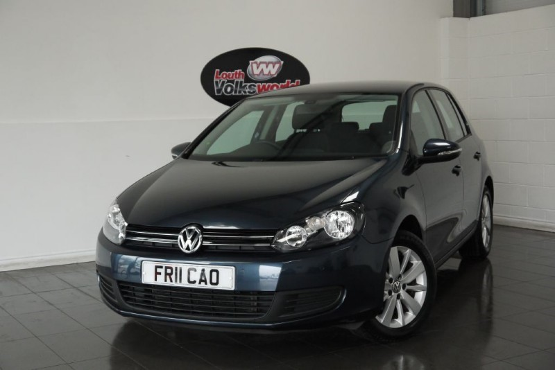 used VW Golf TDI MATCH 5DR £20 P/YEAR TAX in lincolnshire-for-sale