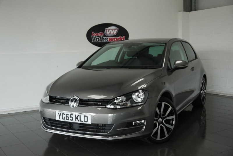 used VW Golf TDI GT 3DR SAT NAV FRONT AND REAR PARK ASSIST in lincolnshire-for-sale