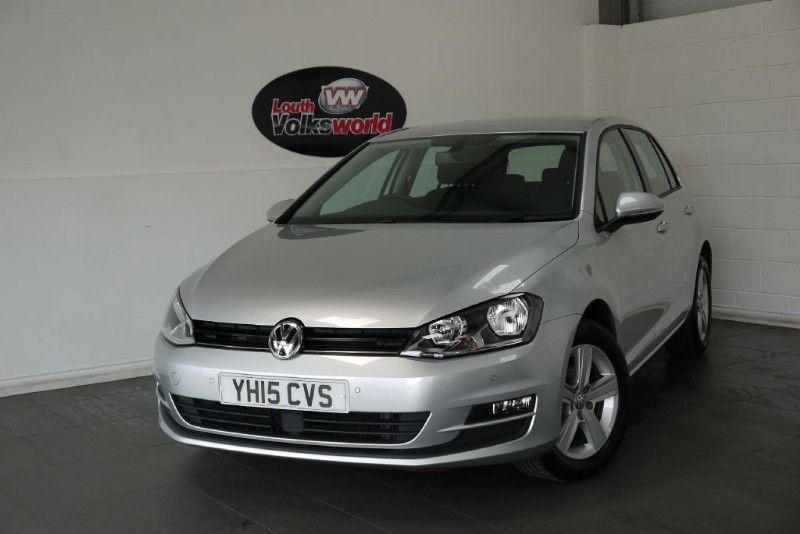 used VW Golf TDI MATCH BLUEMOTION 5DR SAT NAV in lincolnshire-for-sale