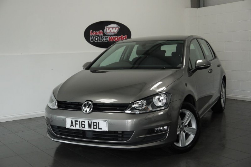 used VW Golf TDI MATCH EDITION 5DR 70 MPG £0 R/F LICENCE PER YEAR in lincolnshire-for-sale