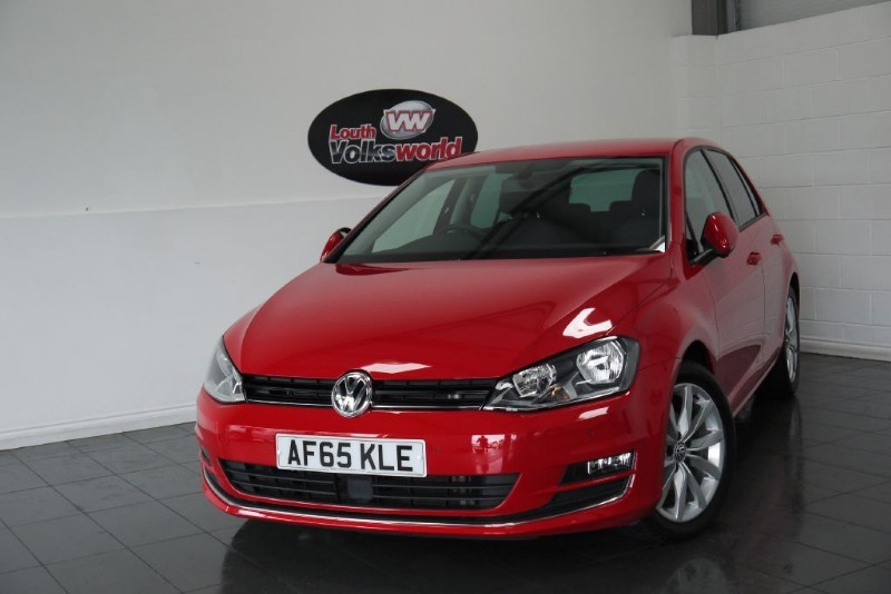used VW Golf TDI GT 5DR SAT NAV in lincolnshire-for-sale