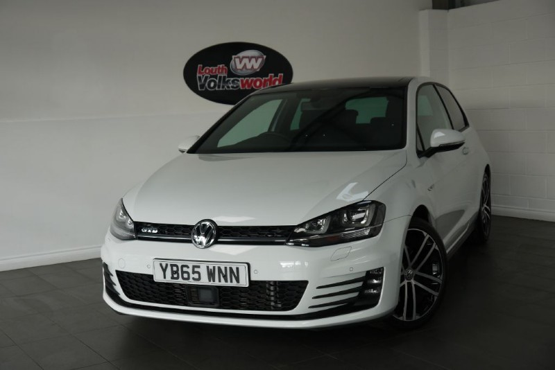 used VW Golf GTD 3DR SAT NAV PAN ROOF in lincolnshire-for-sale