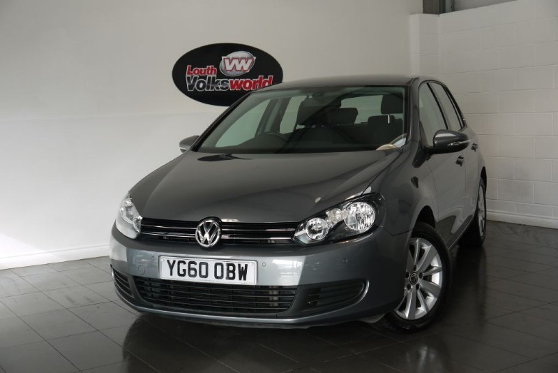 used VW Golf TDI MATCH 5DR SAT NAV in lincolnshire-for-sale