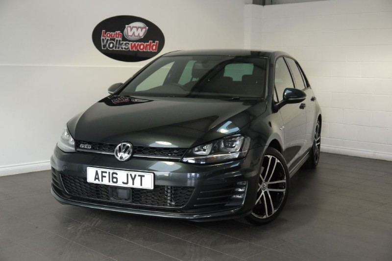 used VW Golf GTD FULL LEATHER AND PRO NAV in lincolnshire-for-sale