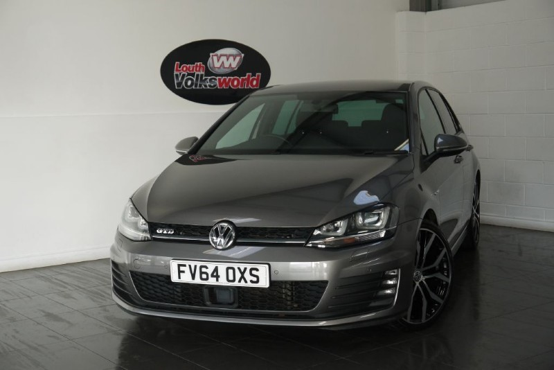 used VW Golf GTD 5DR AUTOMATIC PRO SAT NAV REVERSE PARK CAMERA in lincolnshire-for-sale
